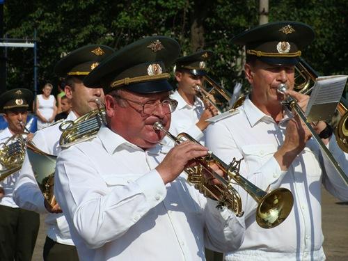 Максатиха - оркестр на дне района