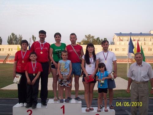 X Всероссийский фестиваль среди спортивных семей «Стартуем вместе»