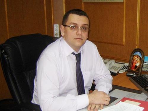 В. В. Елиферов — глава администрации поселка Максатиха