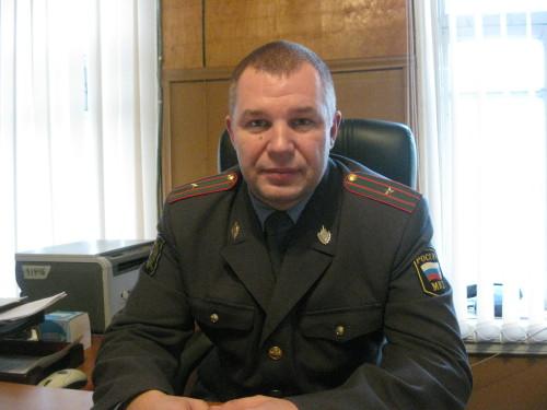 Майор полиции Паскин Константин Геннадьевич