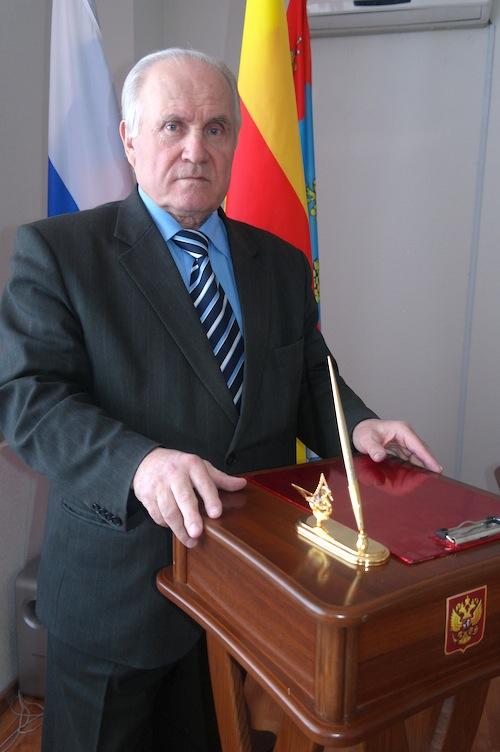 Глава Максатихинского района Н. Д. Вахин