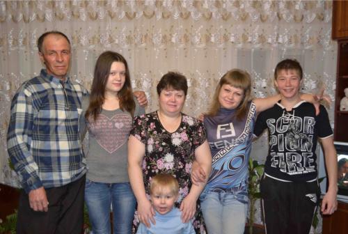 Семейная жизнь супругов Гвоздевых