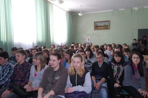 В МСОШ № 1 прошла ярмарка образовательных услуг