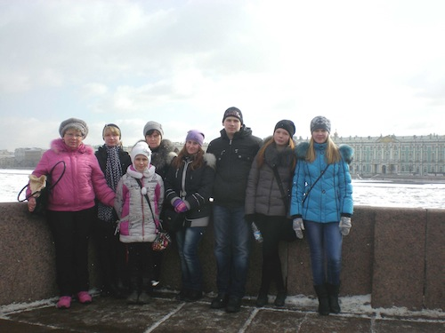 Поездка в г. Санкт-Петербург