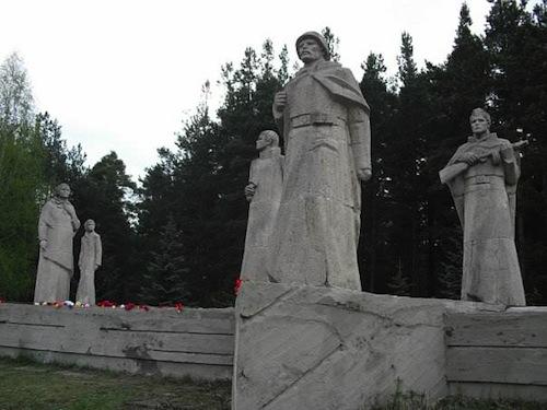 Обелиск Славы в пгт. Максатиха