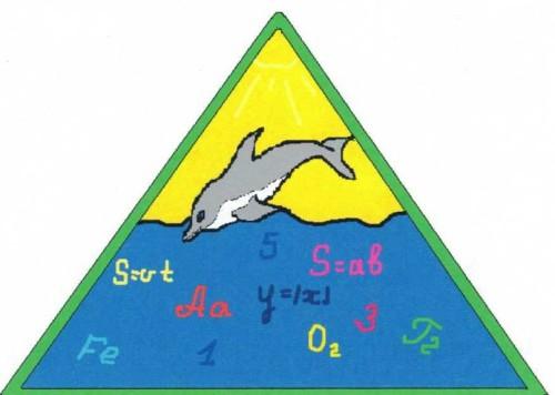 Логотип Кистутовской средней общеобразовательной школы