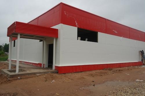 Строительство магазина «Пятёрочка»