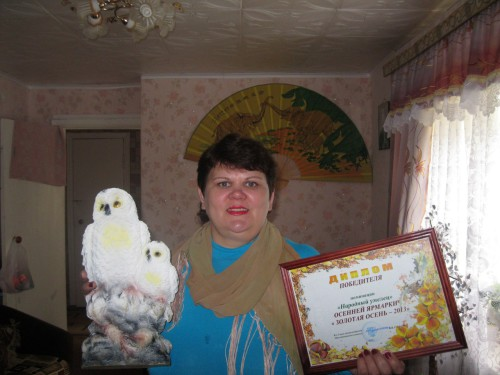 Жительница д. Сельцы Елена Николаевна Макарова