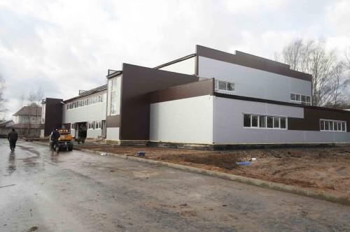 Cтроительство спортивно-оздоровительного комплекса в пгт. Максатиха