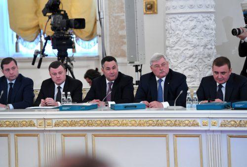 Губернатор Игорь Руденя принял участие в заседании Государственного совета