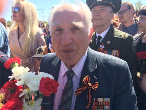 Участник Великой Отечественной войны Иосиф Марголис